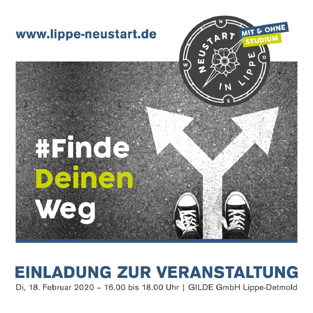 Einladung #FindeDeinenWeg